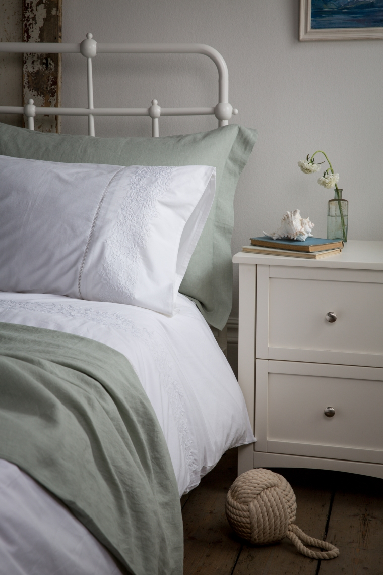 soaksleep-coastal-lifestyle-ft-wilton-bedside-table-150-luxury-embroidered-bed-linen-in-white-strating-at-18-pure-french-linen-bed-linen-in-soft-green-starting-at-25